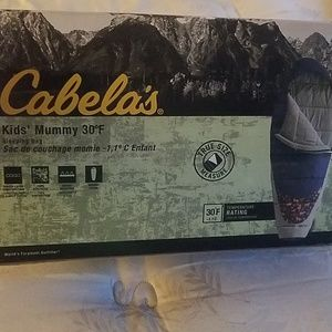 Brand new cabelas kids sleeping bag